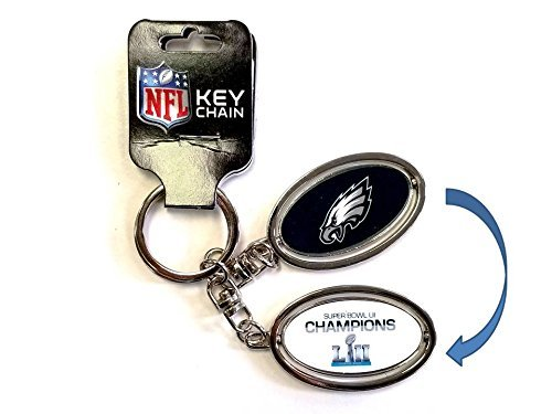 Zipperstop Philadelphia Eagles Super Bowl III 52Champions Schlüssel Ring -