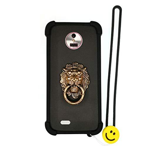 Custodia per Nuu Mobile G2 Custodia Bordo del Silicone + PC Card Stand Case Cover TT