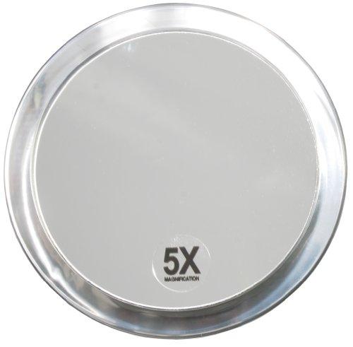 Fantasia - 1355 - Miroir grossissant ( x 5) - 2 ventouses - Plastique - ø 15 cm