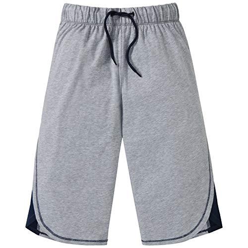Schiesser Jungen Mix & Relax Longboxer Schlafanzughose, (Grau-Mel. 202), 164 (Herstellergröße: M)