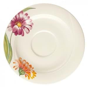Seltmann Weiden Orlando Primavera sous-tasses à petit déjeuner tasse en porcelaine 16cm