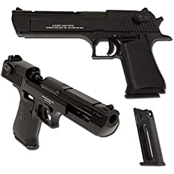 Airsoft 0,5 Joule CO2 Desert Eagle Full Metal Full Auto 090505 CYBERGUN