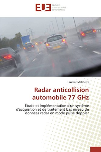 Radar anticollision automobile 77 ghz par Laurent Malaterre
