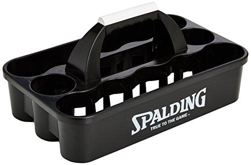 Spalding 300121002 Portabotellas, Unisex, Negro, Talla Única