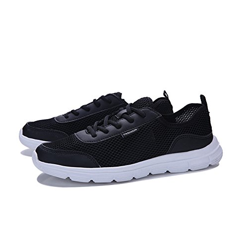 Sonnena-Chaussures de Sport Breathable Casual Shoes Comfortable Lace -up Men Mesh Sneakers Couple Shoes
