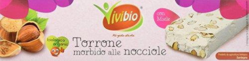 Vivibio Torrone Alle Nocciole - 150 gr