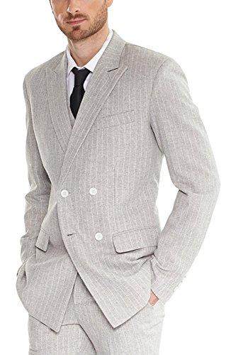 Hanayome Herren Business Herrenanzug Kombination aus Sakko & Anzug-Hose (Hosen-anzug Maßgeschneiderte)