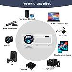 BIGASUO-Vidoprojecteur-2400-Lumens-Portable-LED-Mini-Projecteur-Bluetooth-Soutien-Charge-Le-Format-Plein-HD-1080P-iPhone-Andriod-Jeu-TV-multimdia-Home-Theater-Entertainment