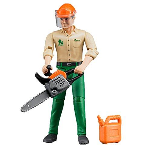Bruder 60030 - Forstarbeiter mit Zubehör