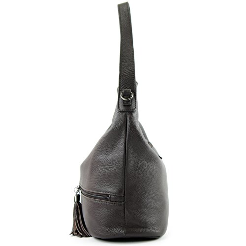 modamoda de -. Ital signore borsa in pelle tracolla borsa tracolla in pelle borsa T143 Dunkelbraun Descuento Disfrutar Precio Barato En Línea Descuentos De Salida bX2I8lznpY