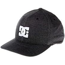 DC Shoes Capstar TX Flexfit Cap, Hombre, Anthracite-Solid, S/M