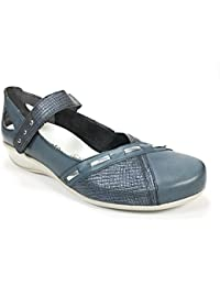 Chaussures Remonte bleues femme