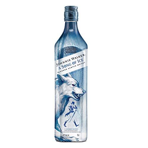 Johnnie Walker Song of Ice Blended Scotch Whisky, Edizione Limitata Trono di Spade, Casa Stark - 700 ml