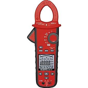 Benning Cm 12 True Rms Digital Leistungs Stromzangen Multimeter 044680 Gewerbe Industrie Wissenschaft