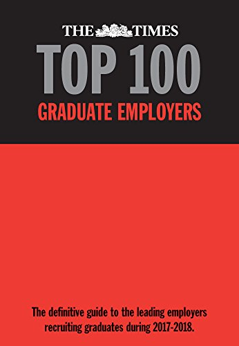 Times Top 100 Graduate Employers 2017-2018
