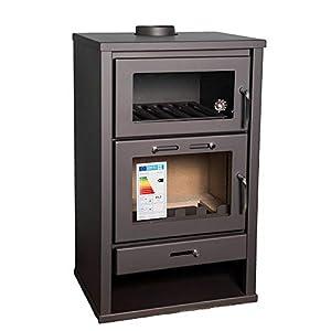 Estufa de leña para estufa, estufa, estufa de estufa, estufa de combustible sólido 15/20 kW BImSchV 2