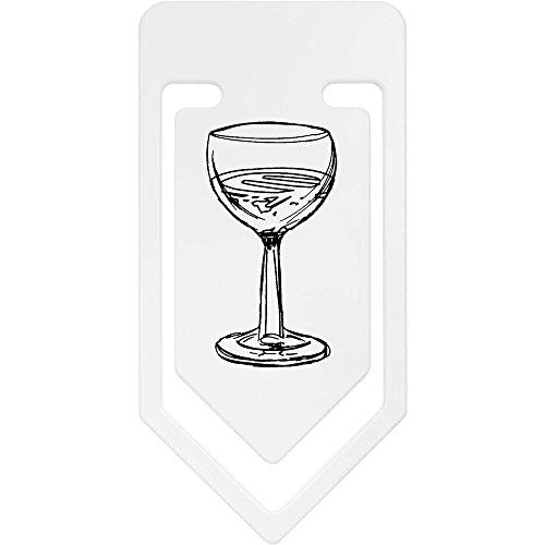Riesige Wein Gläser (141mm 'Glas Wein' Riesige Plastik Büroklammer (CC00020362))