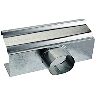 AMERIMAX HOME PRODUCTS 15010 4-Inch Mill Finish Galvanized End/Drop