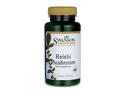 REISHI MUSHROOM 600MG 60 CAPS