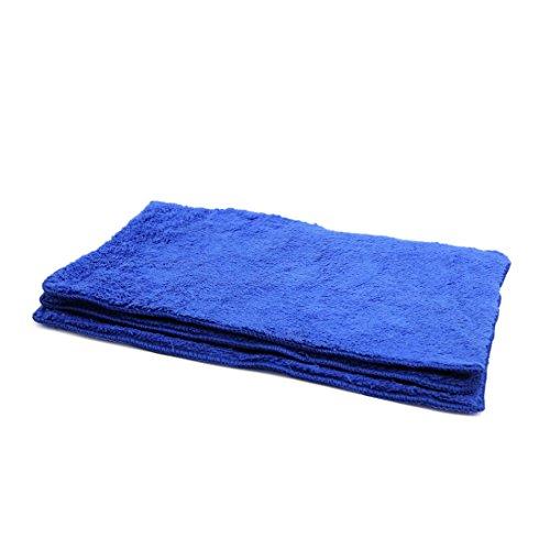 Holdream voiture Outil de nettoyage chiffon en microfibre /à laver Chiffon pour /épilation /à la cire de polissage Car Care Blanc