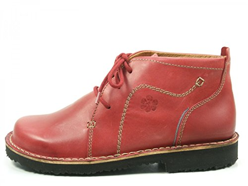 Josef Seibel Ladies Madeleine 23 Sneaker Alta A Metà Rosso