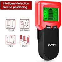 INTEY 3 N1 Detector de Pared, Metal Stud Pinpoint, Madera y AC Cable,