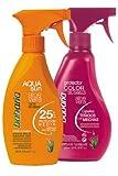 babaria Aloe Vera Sonnenschutzspray LSF25 + Haarprotector