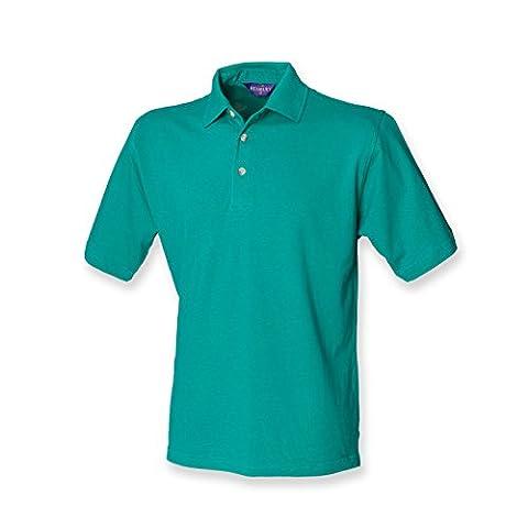Henbury classic polo shirt in jade