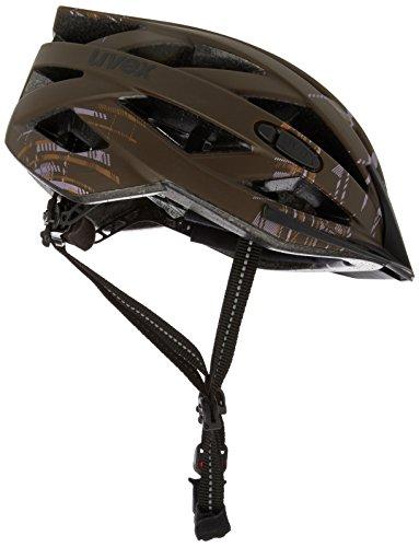 Uvex-Casco per bicicletta City I Vo, Unisex, Fahrradhelm City I-VO, Brown Burberry Mat, 56-60 cm