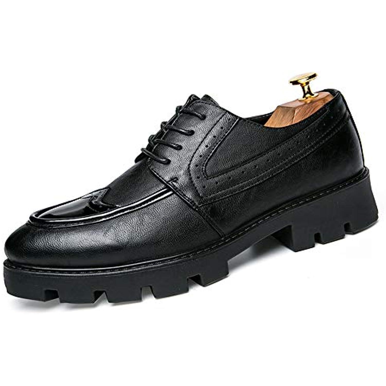 Le nouveau cuir respirant pour à la mode d'Oxford pour respirant hommes d'affaires décontracté rencontre des chaussures de brogue... - B07H1XH8YB - fa657c