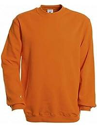 B&C Unisex Set In Modern Cut Crew Neck Sweatshirt