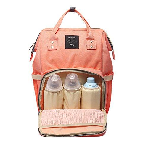 Baby Wickeltasche Reise Rucksack, Baywell Große Kapazitäts Windel Rucksack Tragbar Handtasche Organizer mit Isolierten Taschen für Kinderwagen - Organizer Baby-windel-tasche