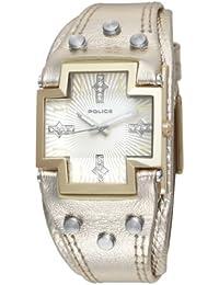 """Police """"Glory Small"""" P11598MSG-06 - Reloj de mujer de cuarzo, correa de piel color oro"""
