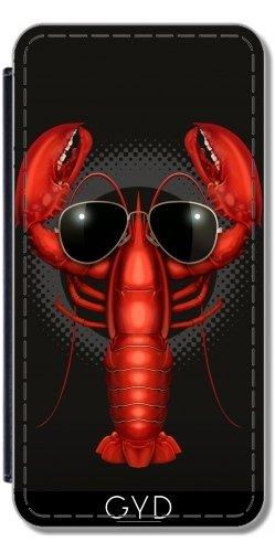 Custodia in PU Pelle per Microsoft Lumia 640 - Aragosta Fresca by Adam (Lobster Personalizzato)