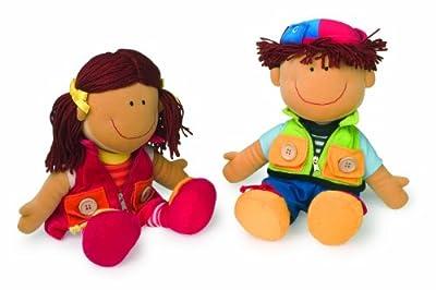 - empresa pequeña del pie 5.506 muñecas Nicoletta y David por small foot company