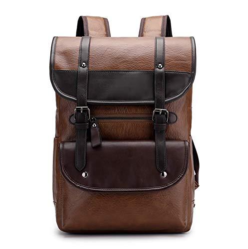 DIANNAOBEIBAO Laptop - Tasche - Männer - Business - Paket MIT großer kapazität Rucksack Retro - Schüler