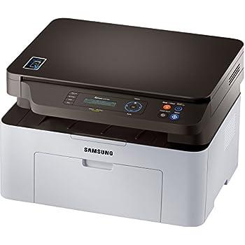 Samsung SL-M2070W - Impresora multifunción láser (20 ppm, 600 MHz, USB2.0), Blanco y Negro