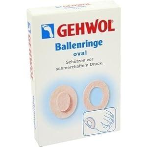 Gehwol Ballenringe oval 6 stk
