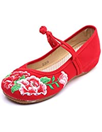 Lazutom Mary Janes pour Femme - Rouge - Red, 39 EU