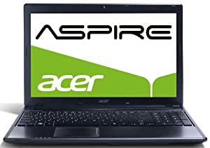Acer Aspire Style 5755G-2434G50Miks 39,6 cm (15,6 Zoll) Notebook (Intel Core i5 2430M, 2,4GHz, 4GB RAM, 500GB HDD, NVIDIA GT 540M-2GB, DVD, Win 7 HP) schwarz
