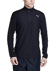 Puma Mens Round Neck Sweatshirt (4057828057637_51556001_X-Large_Puma Black)