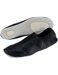 Effea Sport - Zapatilla de piel para gimnasia rítmica - Art. EF8000, negro
