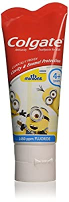 Colgate Anticavity Toothpaste for Kids Minions 4+ Years 50ml
