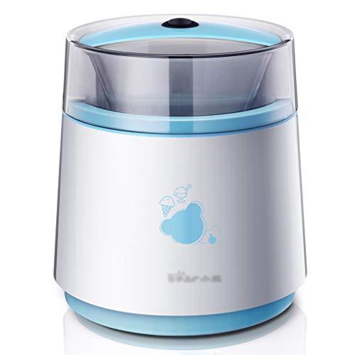 Mini-gelato alla frutta per bambini automatico -800 ml | fai-da-te frozen yogurt e sorbetto macchina, doppio isolamento design silenzioso - miglior regalo