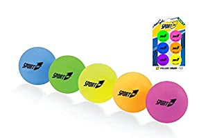 Forma-Pelotas de Ping Pong, 6Unidades, Multicolor, 40mm, orm172