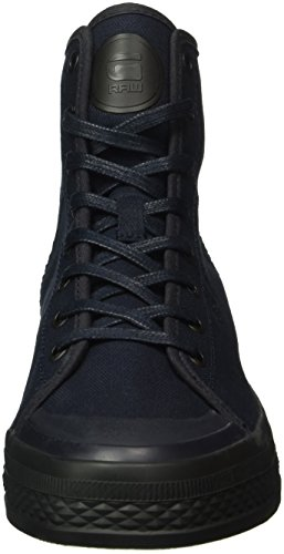 G-STAR RAW Bayton High Denim, Sneakers Hautes Homme Bleu (dk navy 881)