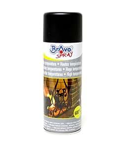 Peinture en bombe aérosol haute température - NOIR