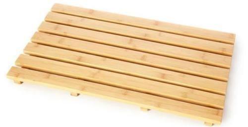 HQ Bambú Junta de Pato de Madera Natural Madera baño Oval Rectangular...