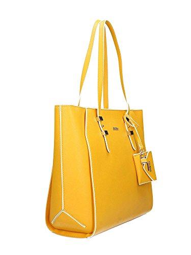 Guess Gia, Borsa a Spalla Donna, 15.5 x 29 x 39 cm (W x H x L) Marigold