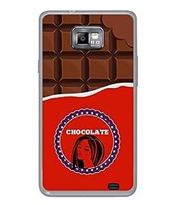 Samsung Galaxy S2 I9100, Samsung I9100 Galaxy S Ii Back Cover Chocolate Lady Icon Design From FUSON